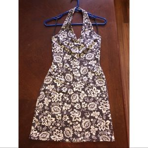 XOXO Brand Floral Halter Dress - Size Small